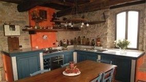 Cucina in muratura originale