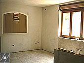 Cucina in muratura: struttura mattoni speciali