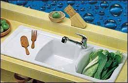 Scelta e installazione del lavello