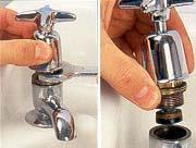 Smontaggio rubinetto