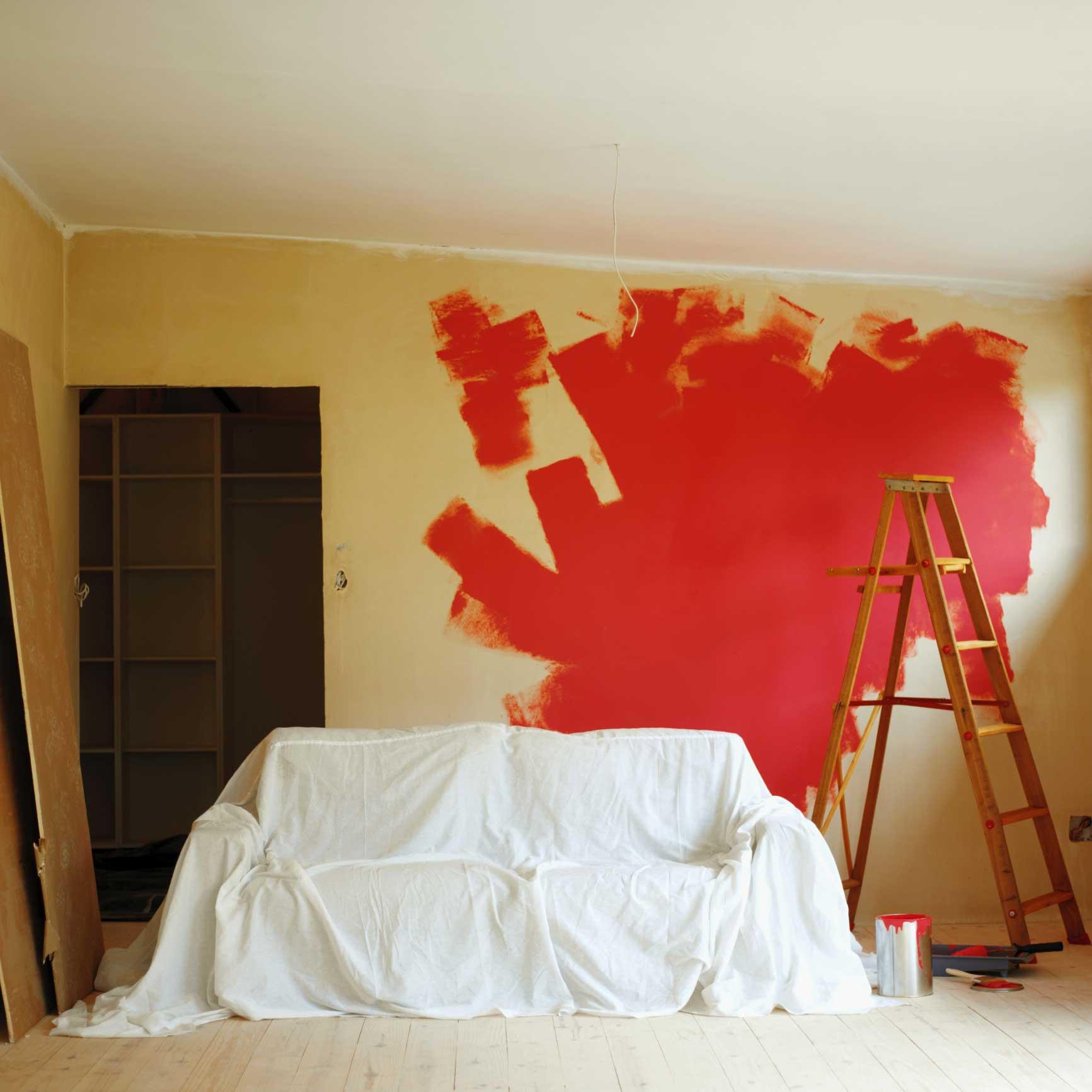 Preparare le pareti alla tinteggiatura for Tipi di schierandosi per le case
