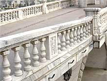Balaustre in cemento roma