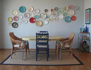 Piatti come decorazione parete_thenester.com
