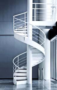 Progettare le scale for Sala di piani quadrati a chiocciola