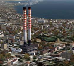 Edifici sostenibili: l'inquinamento industriale