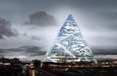 Edifici sostenibili: l'avveneristico Projet triangle