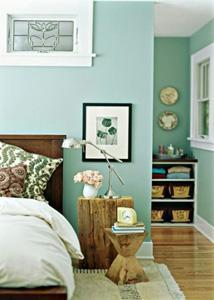 esempio di parete colorata_pinterest