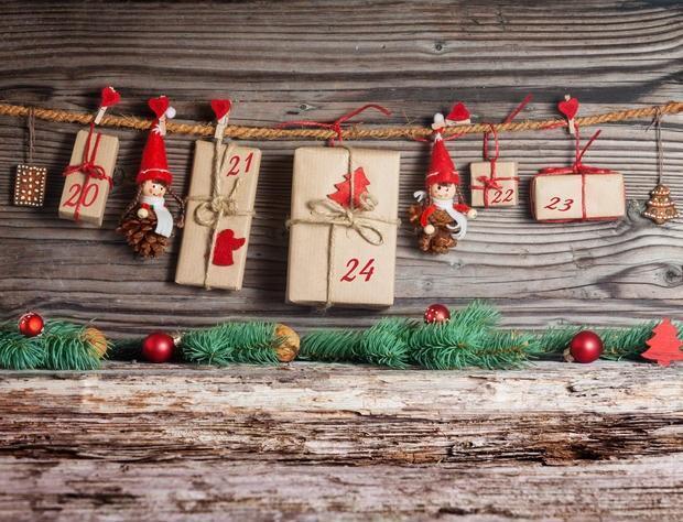 Calendario dell'avvento pacchetto