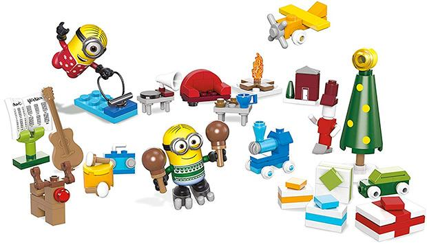 Calendario dell'Avvento Minion Mega Bloks Cattivissimo Me 3