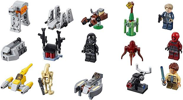 Lego Star Wars Calendario dell'Avvento