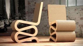 Sedute di design in cartone