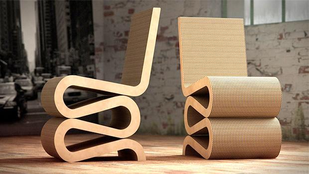 Sedie In Cartone Design.Sedute In Cartone