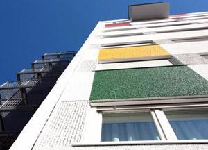 Sharing_Particolare colori in facciata