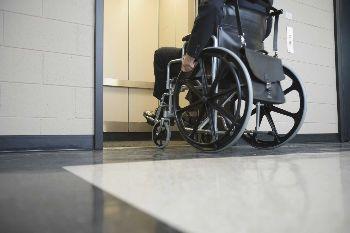 piattaforma elevatrice per disabili