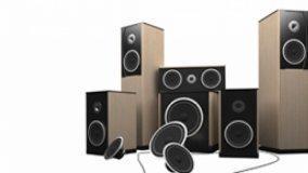 Diffusori audio di un sistema Home Theatre