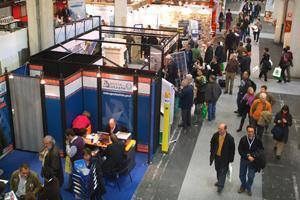 Un angolo dell'esposizione 2010