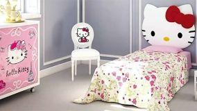 Camerette per bimbe: Tutti pazzi per Hello Kitty