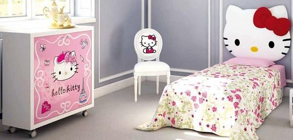 Cameretta e mobile Hon Hello Kitty by CIA International