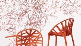 Alberi e fiori come sedute