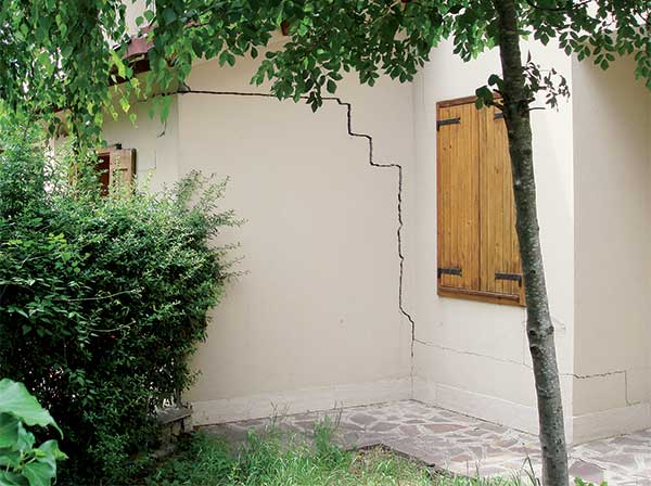 Le crepe nei muri, quale tipo di consolidamento terreni eseguire