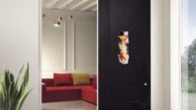Porte decorate in vetro