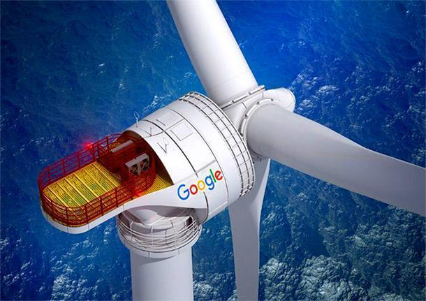 Energia eolica by Google