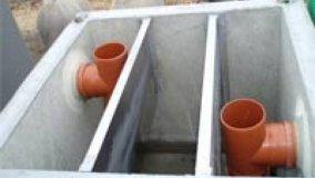 Disoleatori-Degrassatori per trattamento acque reflue