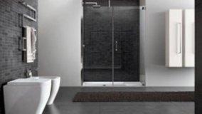 La doccia in una nicchia