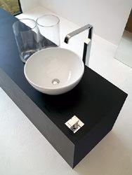 ArtCeram: lavabo a ciotola