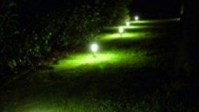 Illuminazione a Led degli spazi esterni