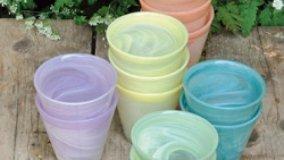 Complementi in alabastro in bagno e cucina