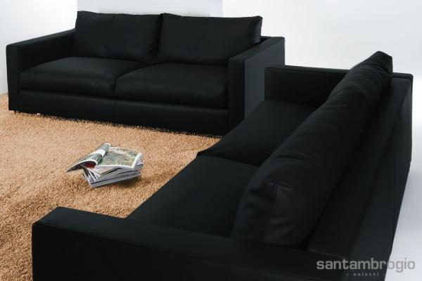 Buono sconto per acquisto divano: divano in pelle Claudio
