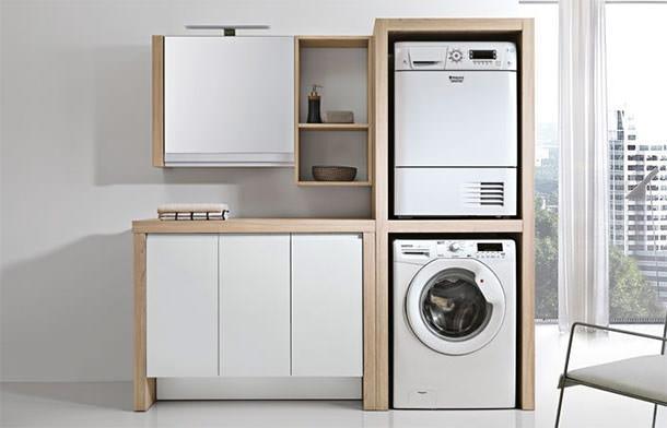Sistemi arredo per lavanderia - Arredo per lavanderia di casa ...