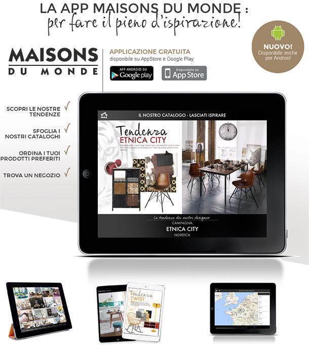 App Maisons du Monde