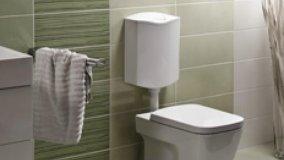 Installare la cassetta di scarico wc
