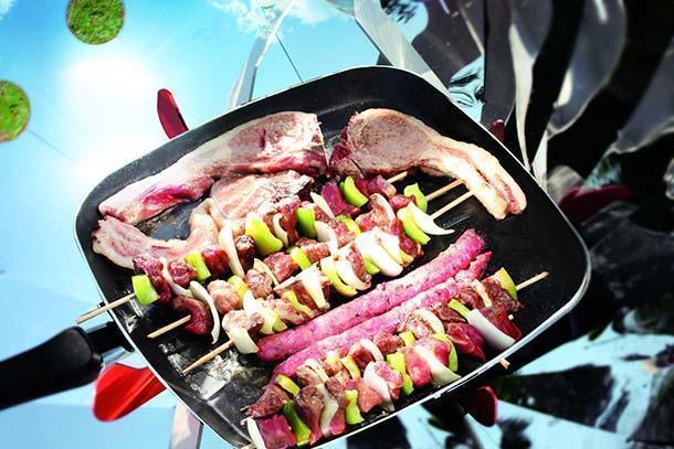 Cottura al barbecue solare Cook up di IDCOOK
