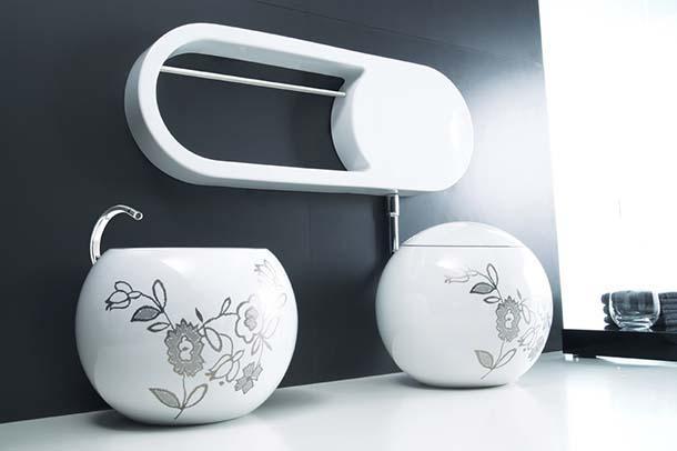 Sanitari Sfera di Disegno Ceramica
