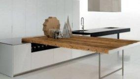 Torna il legno in cucina