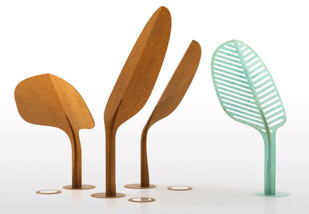 Illuminazione giardino: Ginko by De Castelli