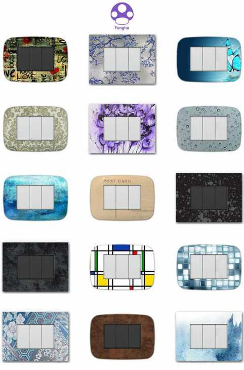 Placche elettriche personalizzate FUNGHO