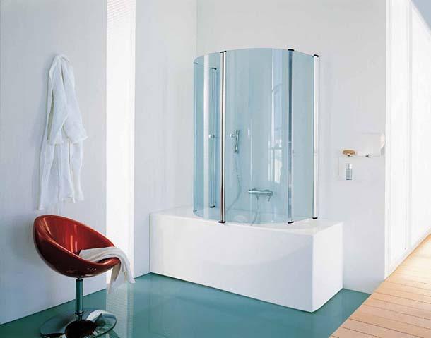 Vetro Per Vasca Da Bagno Prezzi : Pareti per vasca da bagno