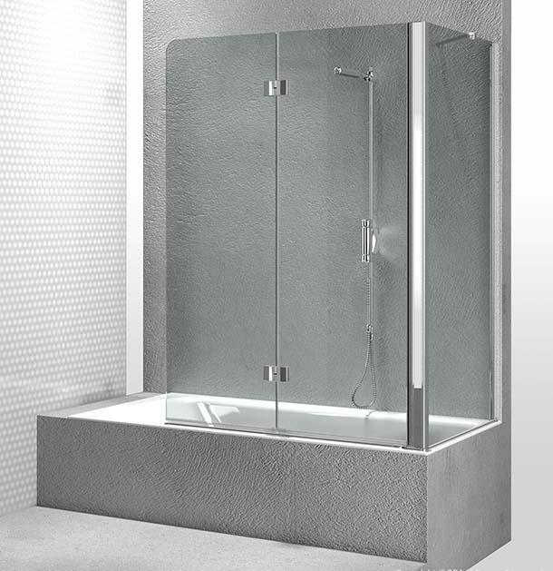 azienda Vismara Vetro propone diversi tipi di pareti vasca, a ...