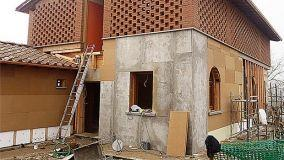 Pannelli isolanti in legno cemento