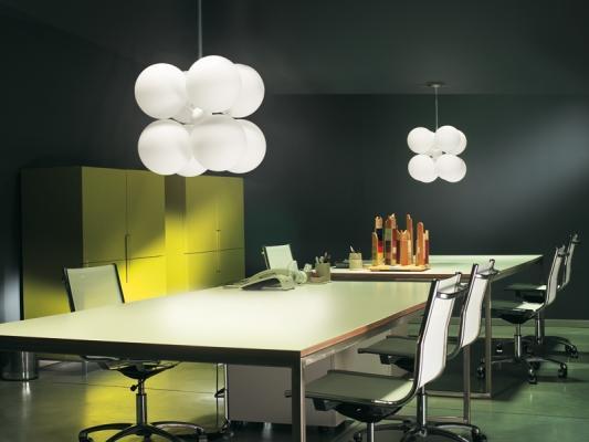 Lampade per il tavolo da pranzo - Mollettone per stirare sul tavolo ...