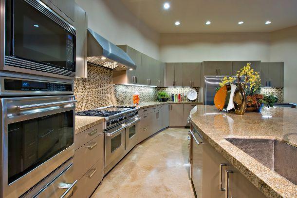 bando lampade ad incandescenza in cucina