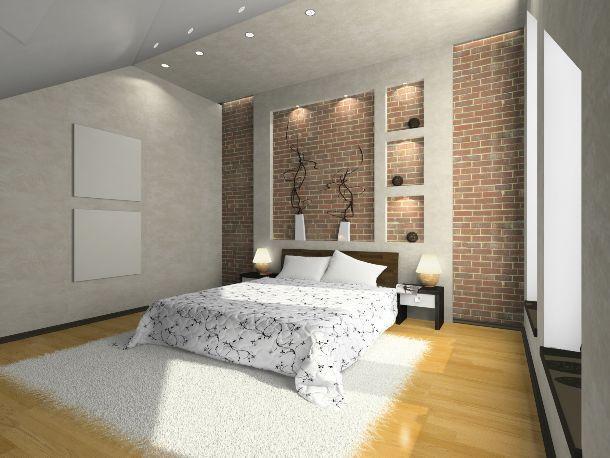 bando lampade ad incandescenza in camera da letto