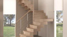 Scale per interno di design