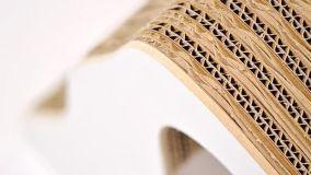 Design negli arredi in cartone riciclato