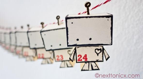 Calendario dell'Avvento secondo Next to Nicx