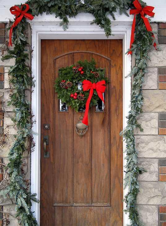 porta d 39 ingresso natalizia